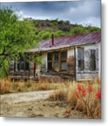 Cargill Residence At Ruby Arizona Metal Print