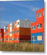 Cargo Homes Metal Print