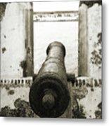 Caribbean Cannon Metal Print