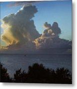 Caribbean Clouds Metal Print