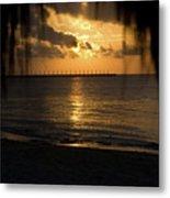 Caribbean Early Sunrise 5 Metal Print