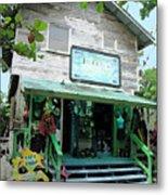 Caribbean Gift Shop Metal Print