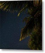 Caribbean Nights Anse Chastanet Metal Print