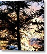 Cariboo District Sunset Metal Print