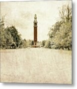 Carillon In The Snow Metal Print
