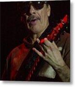 Carlos Santana Metal Print
