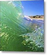 Carlsbad Wave 3 Metal Print