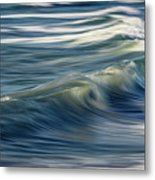 Ocean Wave Abstract Metal Print