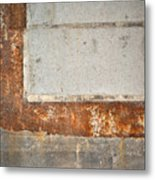 Carlton 14 - Abstract Concrete Wall Metal Print