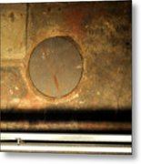Carlton 15 - Square Circle Metal Print