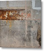 Carlton 16 Concrete Mortar And Rust Metal Print