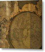 Carlton 3 - Abstract Concrete Metal Print