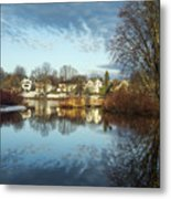 Carleton Place On The Mississippi - 18 Metal Print