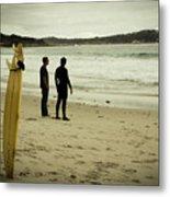 Carmel Beach, Ca Metal Print