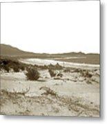 Carmel Beach, Carmel Point And Point Lobos Circa 1925 Metal Print