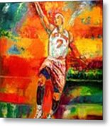 Carmelo Anthony New York Knicks Metal Print
