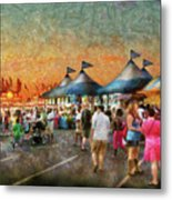 Carnival - Who Wants Gyros Metal Print