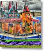 Carnival At Crocker Park Metal Print