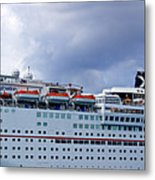 Carnival Cruise Ship Metal Print