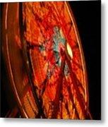Carnival Ferris Wheel Metal Print