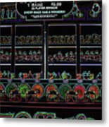 Carnival Game On Velvet Metal Print