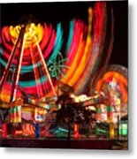 Carnival In Motion Metal Print