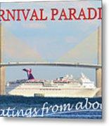 Carnival Paradise Custom Pc One Metal Print