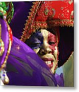 Carnival Personified Metal Print