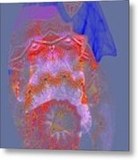 Carnival Abstract 3 Metal Print