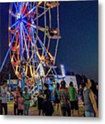 Carny Night 6 Metal Print