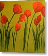 Carolina Tulips Metal Print
