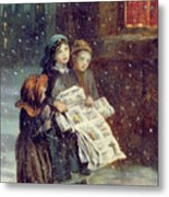 Carols For Sale  Metal Print