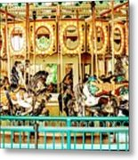 Carousel - Como Zoo, St. Paul, Minnesota Metal Print