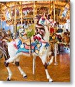 Carousel Dreams II Metal Print