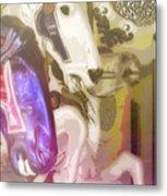 Carousel Gallop Metal Print