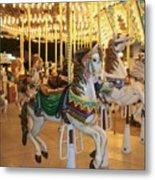 Carousel Horse 4 Metal Print