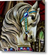 Carousel Horse  Metal Print by Paul Ward