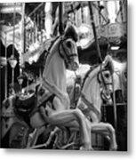 Carousel Horses No.2 Metal Print