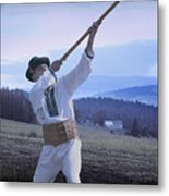Carpathian Highlander Metal Print