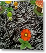 Carpet Under Water Metal Print