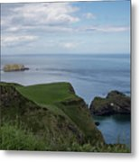 Carrick Island From Portaneevey Metal Print