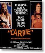 Carrie, Sissy Spacek, 1976 Metal Print