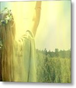 Carriers Of The Glory Metal Print
