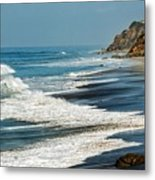 Carrillo Beach Metal Print