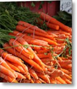 Carrot Bounty Metal Print