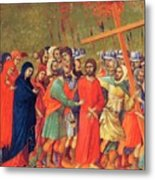 Carrying Of The Cross 1311 Metal Print