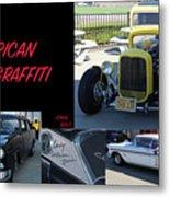 Cars From American Graffiti Metal Print
