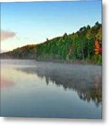 Carson Lake This Fall Metal Print