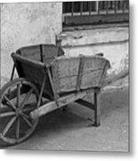 Cart For Sale II Metal Print
