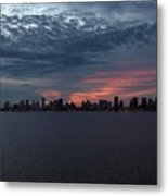 Cartagena Colombia At Sunset Metal Print